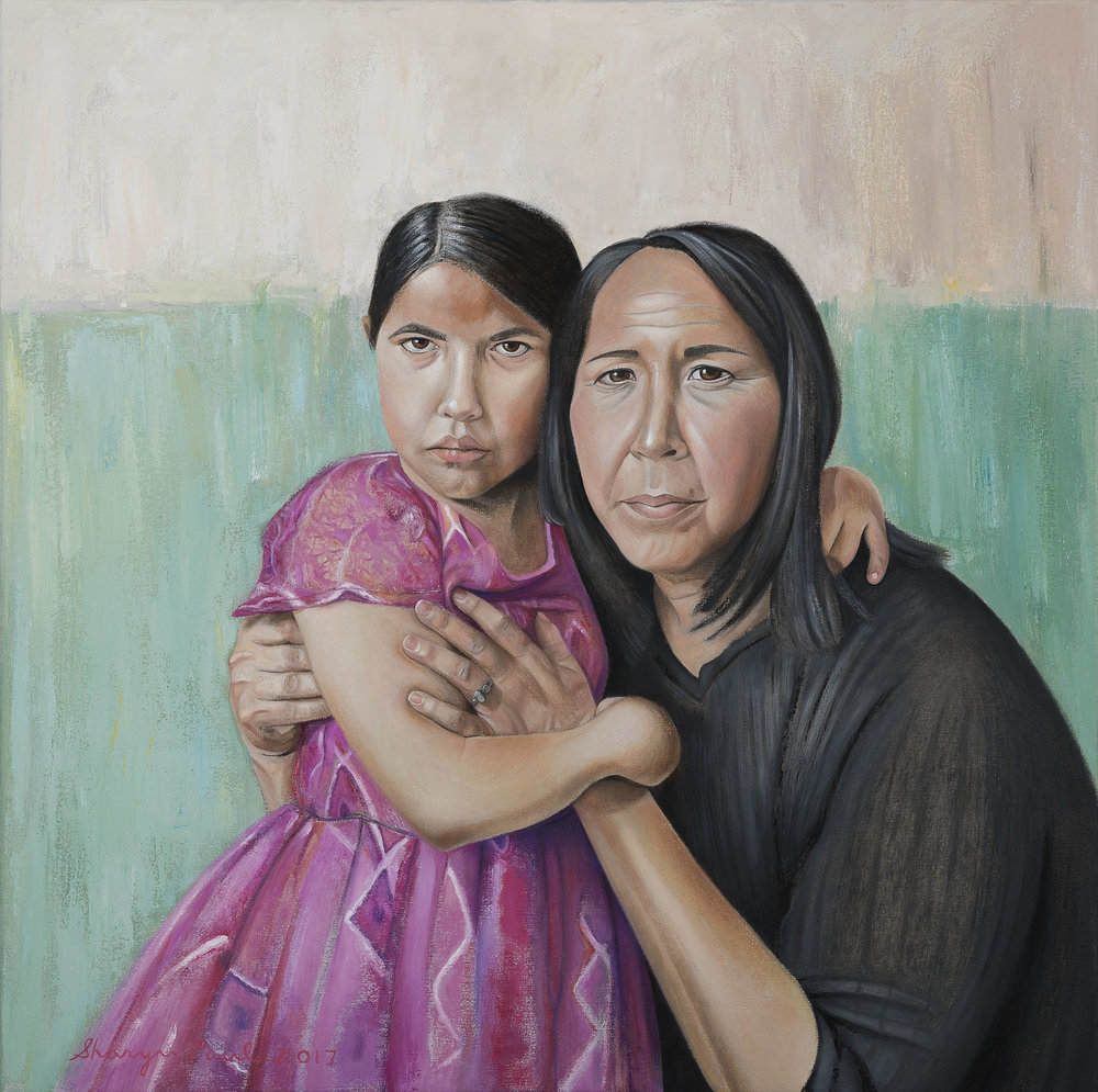 'Child & Mother'
