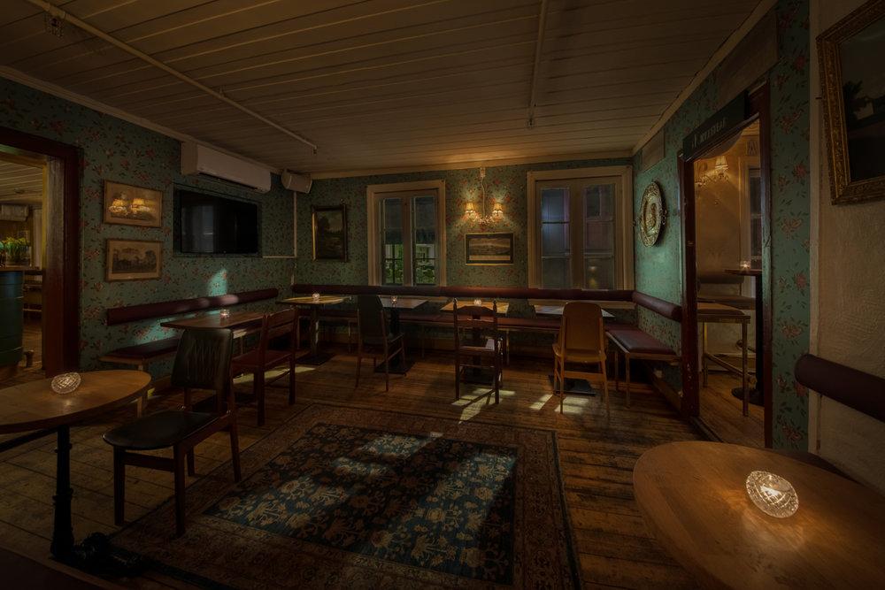 Salongene: baren i 2. etasje