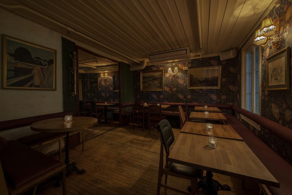 Salongene: Barlokalet i 2. etasje