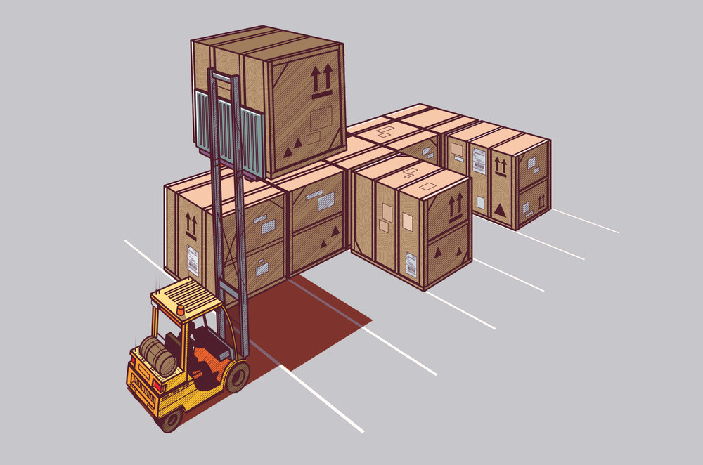 F is for forklift