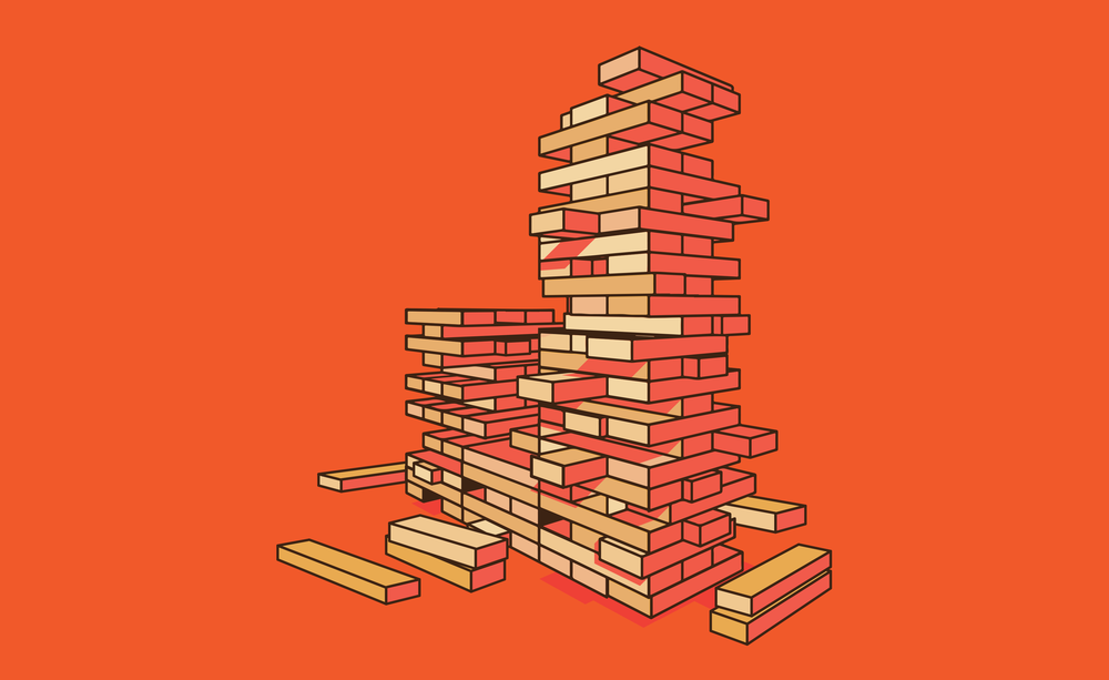 J is for Jenga