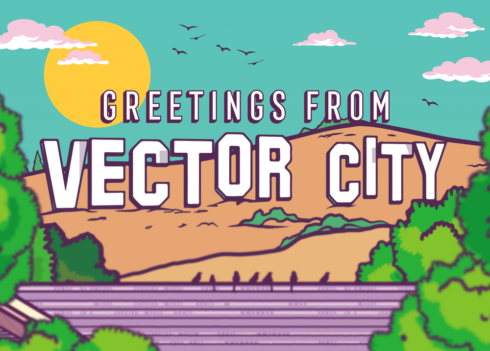 Greetings From Vector City