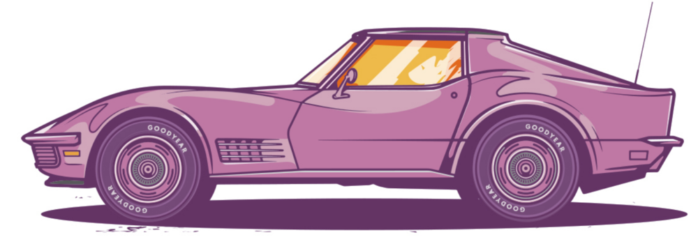 Vector City Car