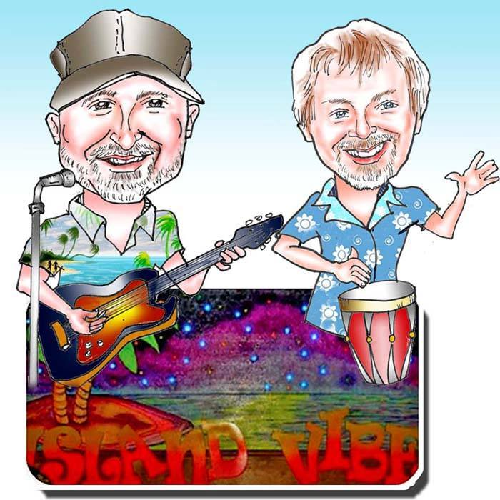 ISLAND VIBE - 12-2:30PMGet your beach vibe on with this fun loving duo singing the music of the islands