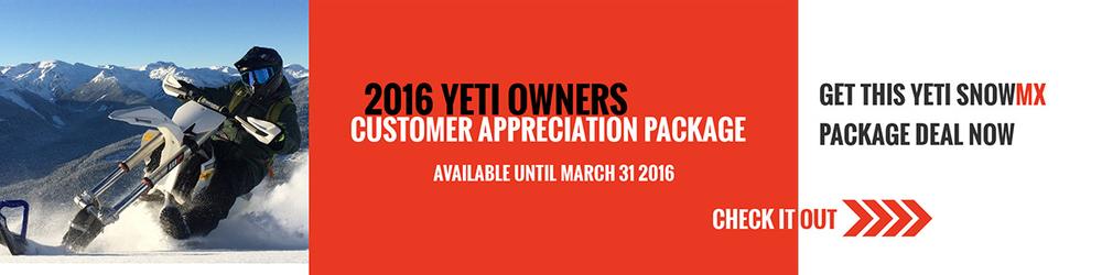 YETI Customer Appreciation Promotion