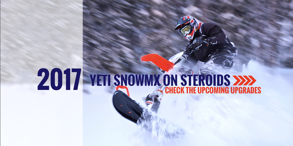 YETI Snow Bike 2017 Upgrades and Features