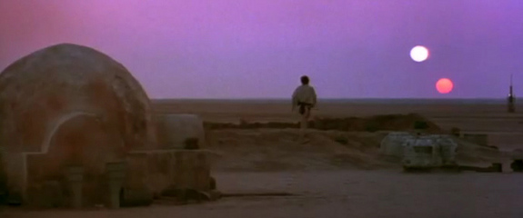 Let's just say the plot has about as many key points as Tatooine has suns...