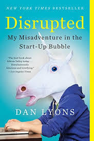 Disrupted Dan Lyons Book Cover