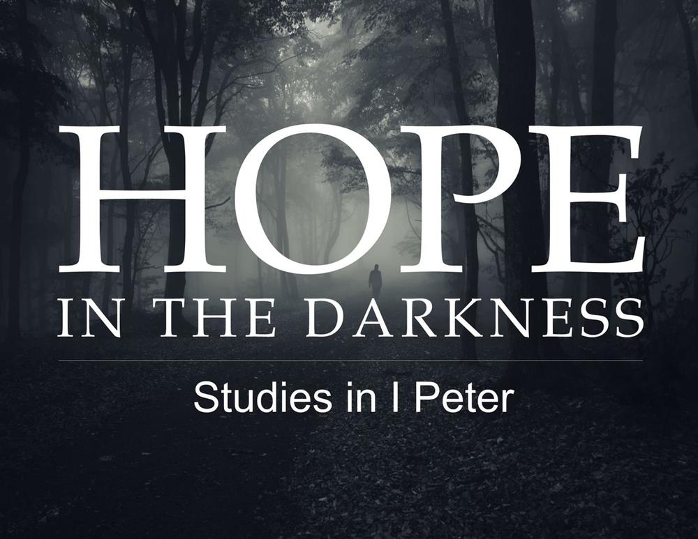 March 6, 2016 ~ Still More Hope for the Stranger (1 Peter 1:10-12) ~ Pastor Jason Pilchard