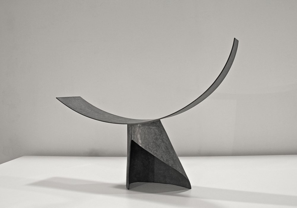 Eilís O'Connell:  Alpha , 2014, cast and fabricated bronze, 43.5 x 61.5 x 14.5cm
