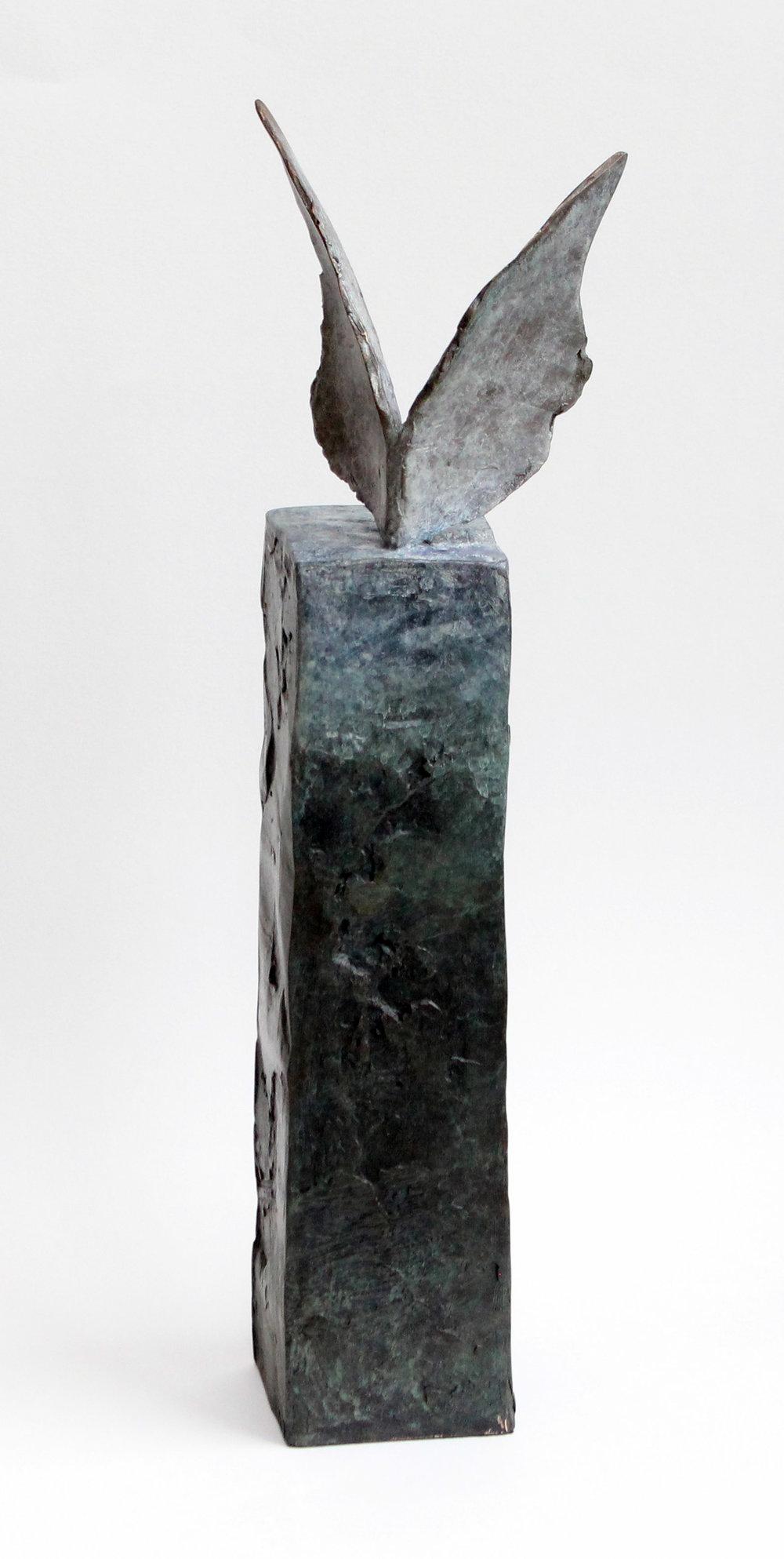 Annika Berglund, 'Soaring I', bronze (34 x 10 x 7 cm)