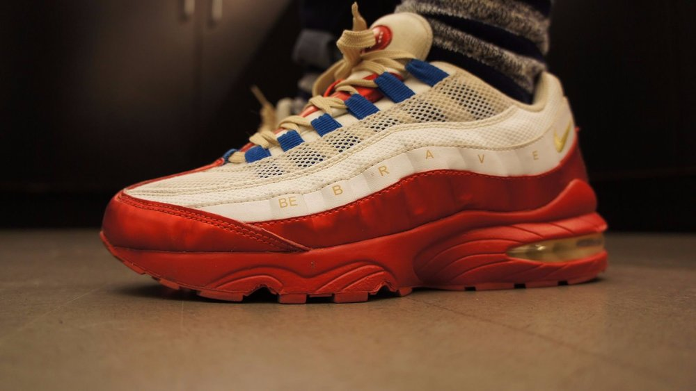Nike Doernbecher Air Max 95  BE B R A V E