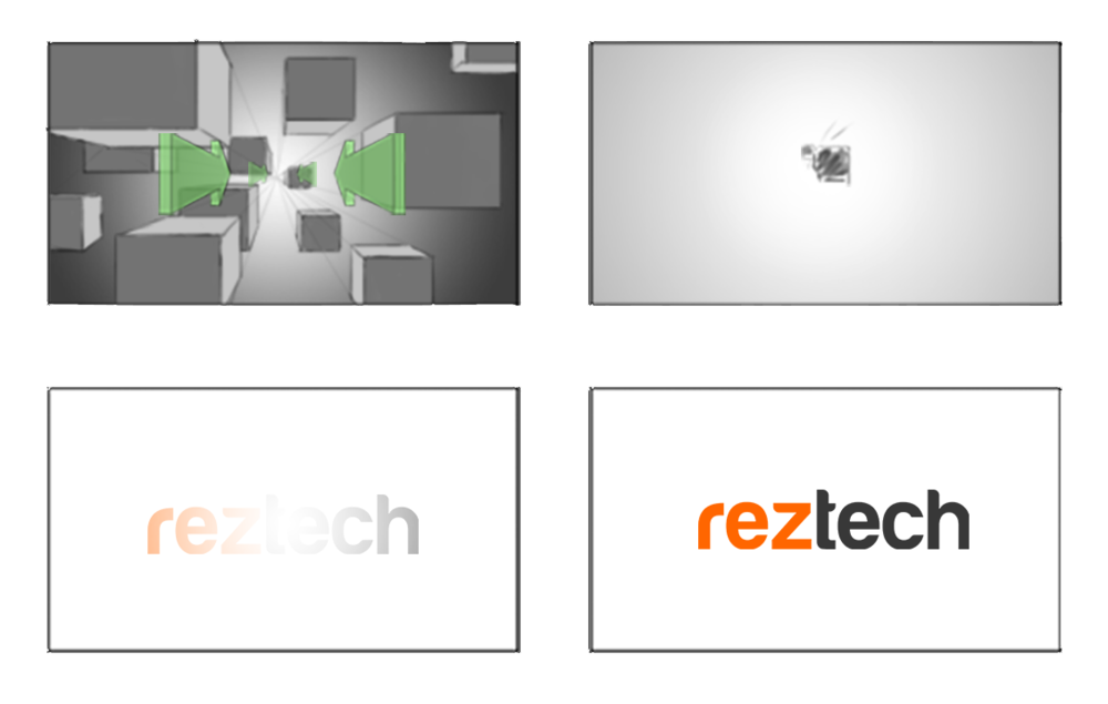 Reztech Logo Animation