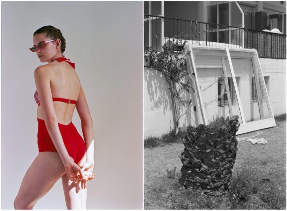 Swimsuit -La Perla;Sunglasses –Pawaka