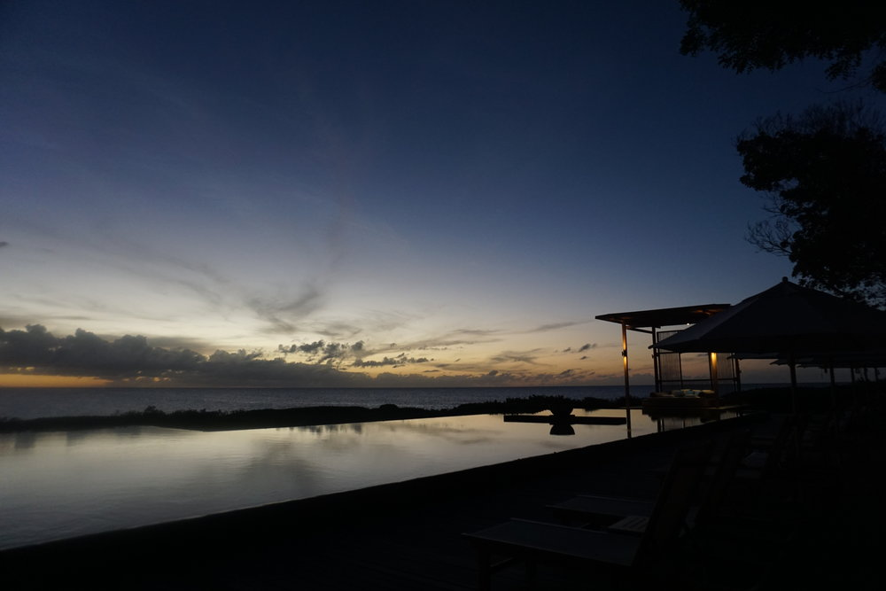 Sunset at the Amanyara