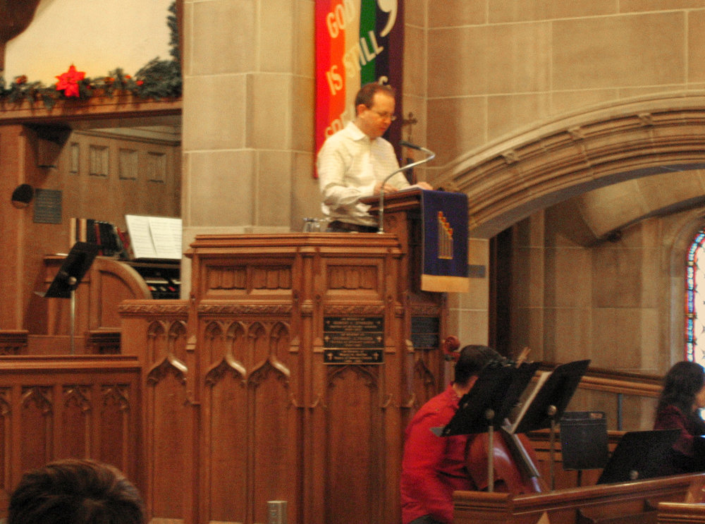 4.6 Linton Childs in pulpit.JPG