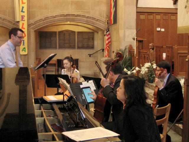 1.56 Quartet rehearsal.JPG