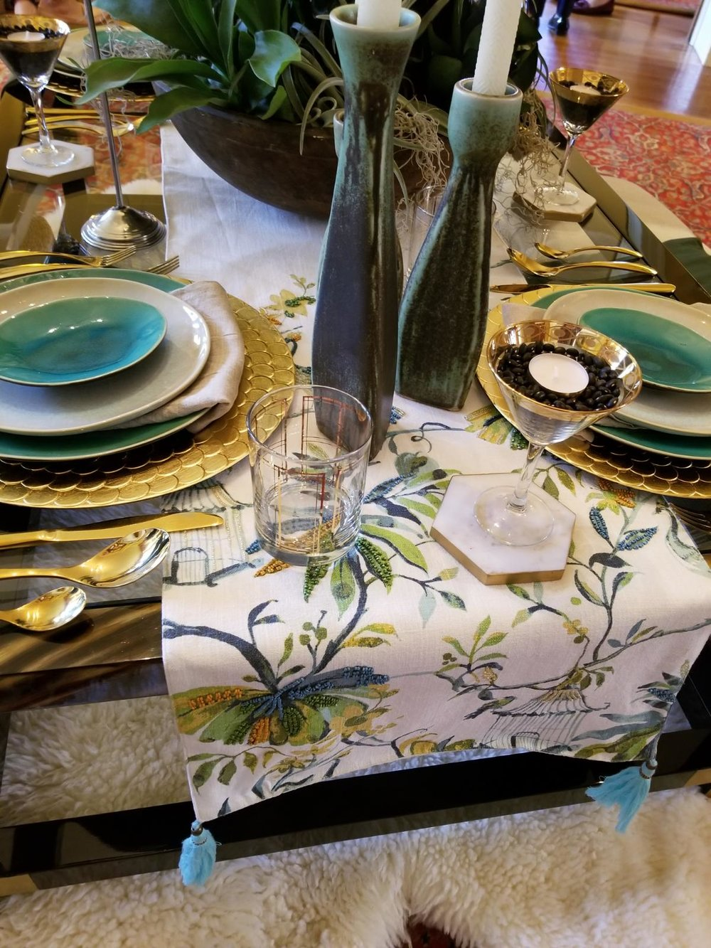 This year's Set to Celebrate table presented by Moreau Designs