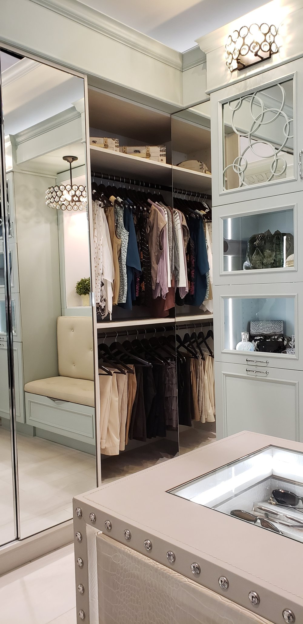 Do you think they would notice if I took up residence here? I mean this closet may have very well been my bedroom.