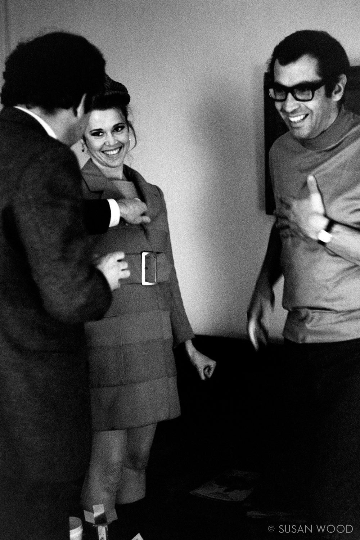 Jane Fonda & Roger Vadim 1967