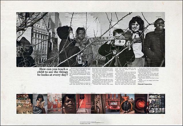 Polaroid Ad 1965