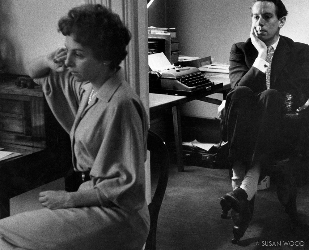 Elaine Dundy and Kenneth Tynan 1956
