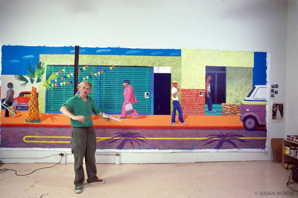 David Hockney 1980