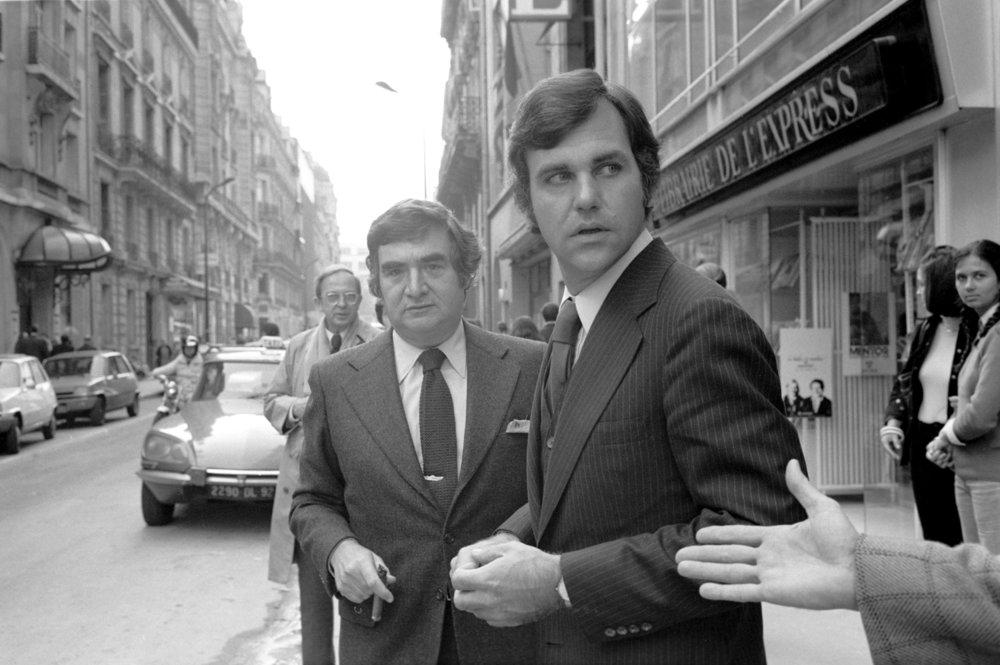 Pierre Salinger & Ron Ziegler 1979