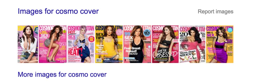 Sexy sex sells sexy magazines.