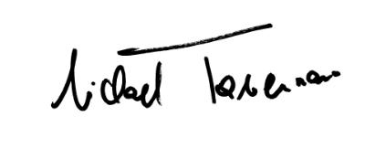 Unterschrift Michael Tavernaro