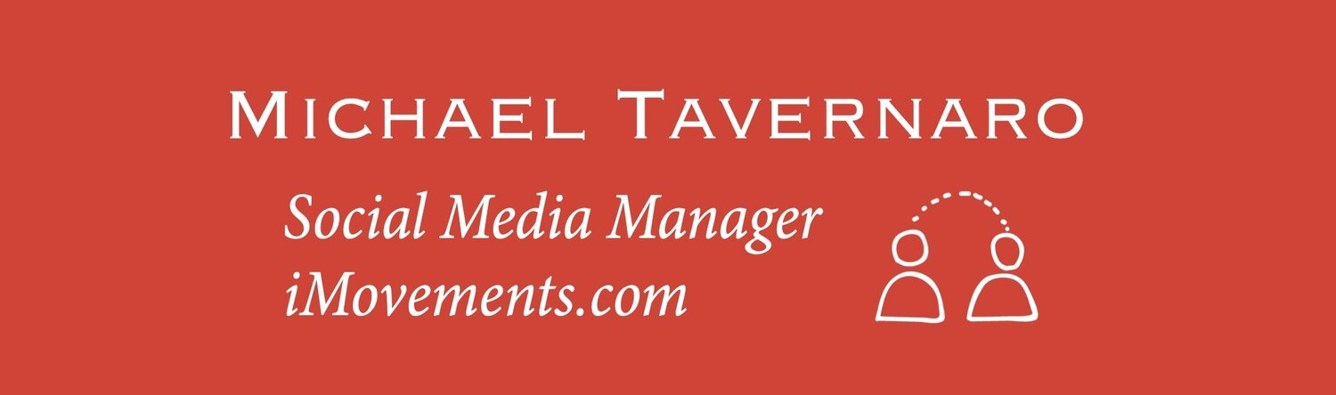 Michael Tavernaro - Social Media Manager