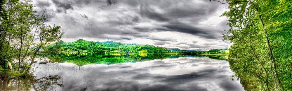 Keutschacher See mit UNESCO Weltkulturerbe