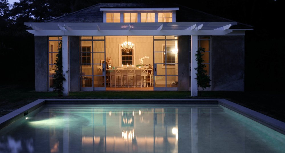 East Hampton Poolhouse