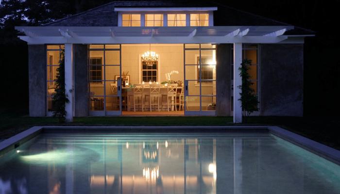 East Hampton Poolhouse