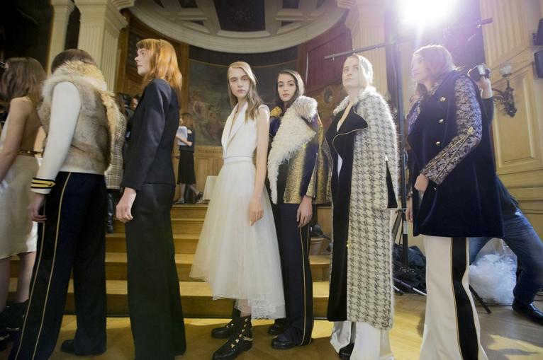 Bouchra Jarrar  models. Looking hot hot hot