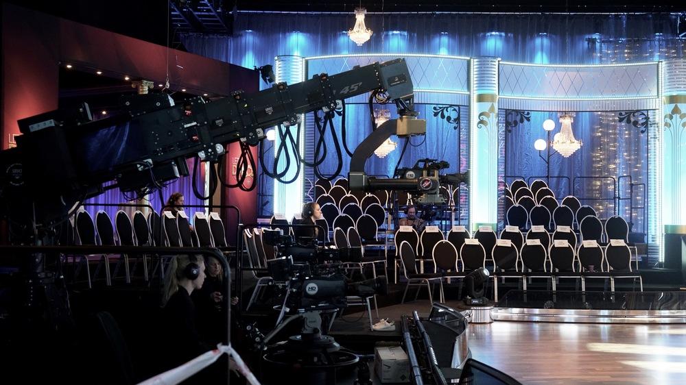 När lokalerna är tomma i väntan på att inta publiken.