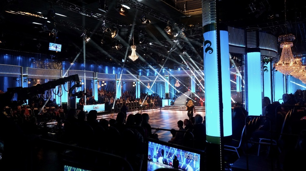 Publiken sitter redo för LIVE showen!!!!!