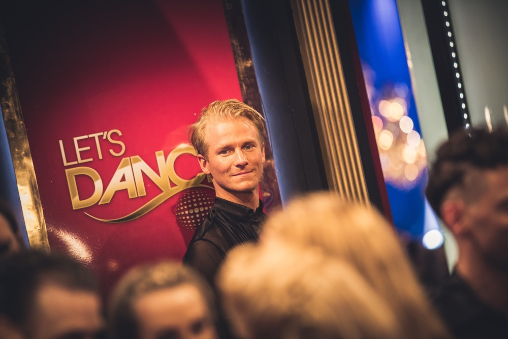 Fredric Brunberg at the Lets Dance Finals 2016