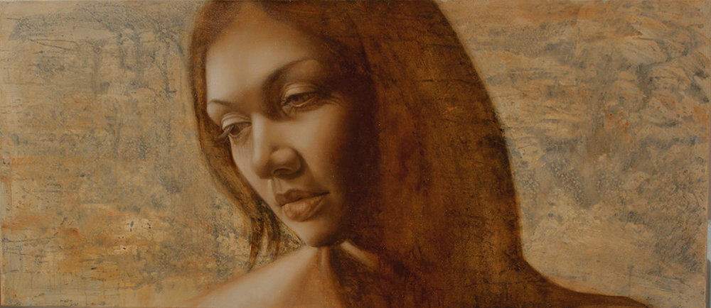 Shades of Sienna I - SOLD