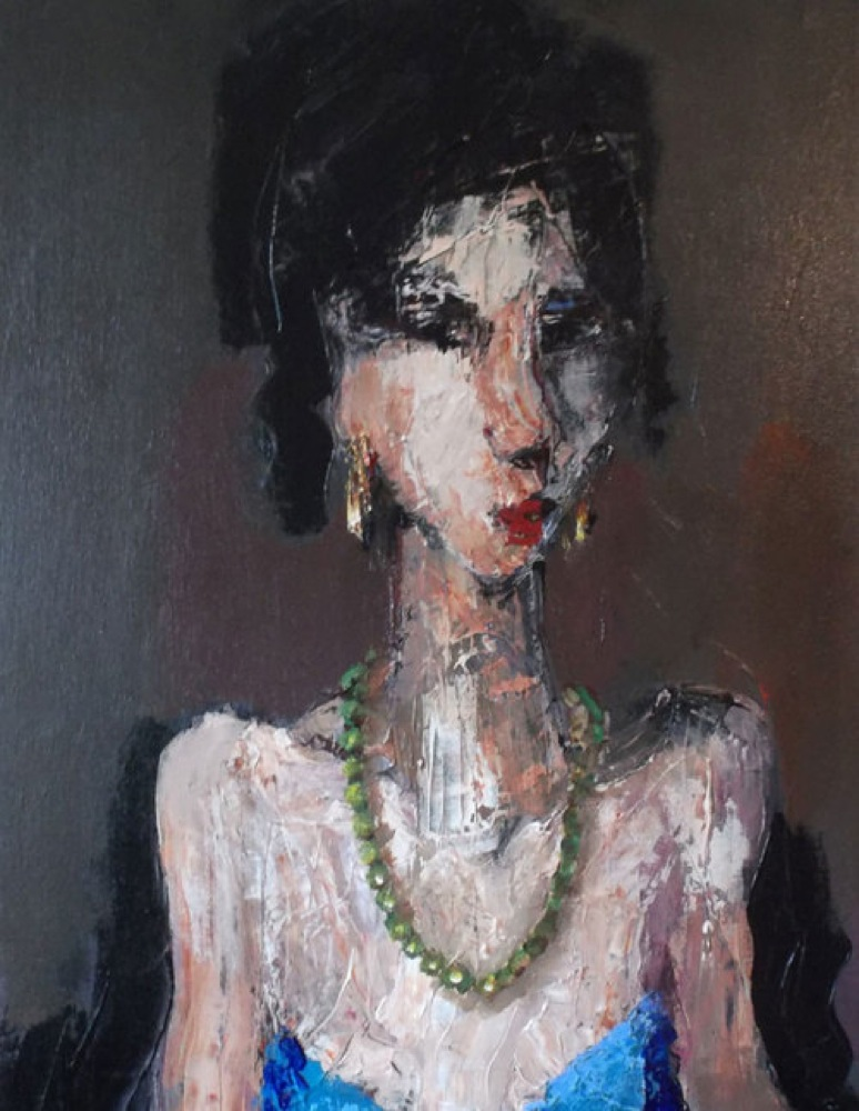 Lady At The Theatre Royal - SOLD
