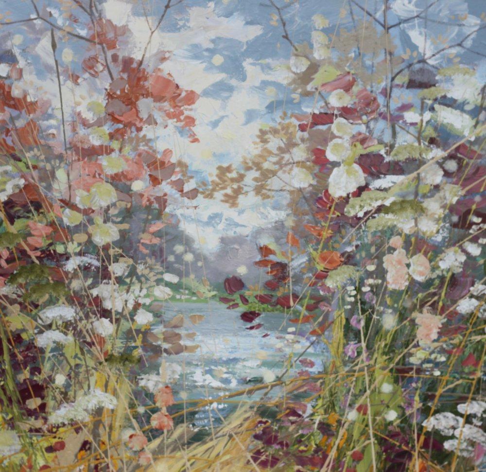 Reeds - 80 x 80cm