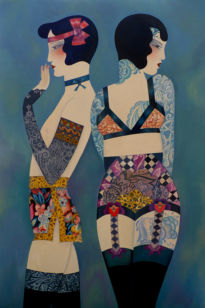 Decorated Women - SOLD