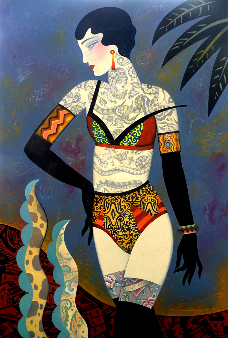 Decorated Woman - SOLD