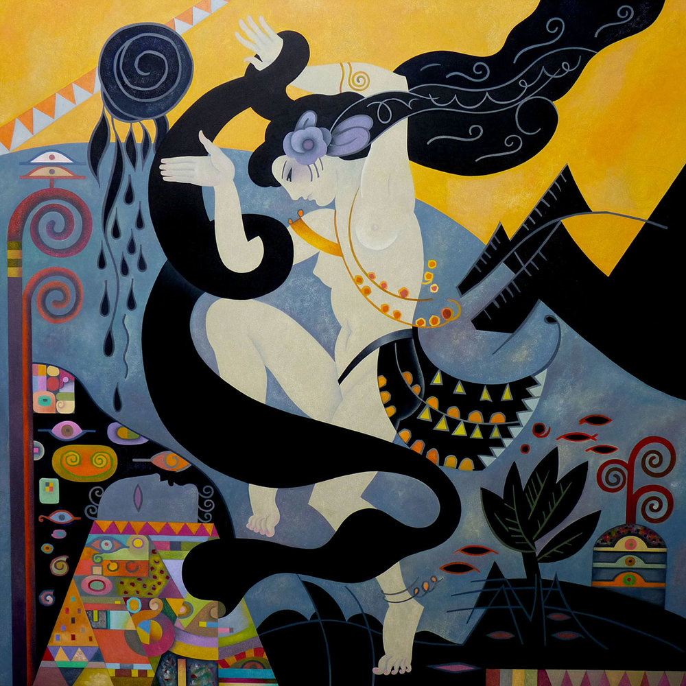 Salome - Seduction - 4' x 4'