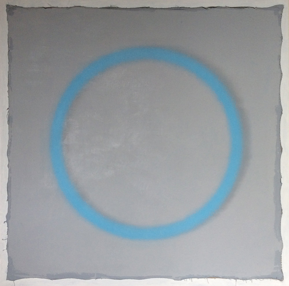 Manganese over Grey - SOLD