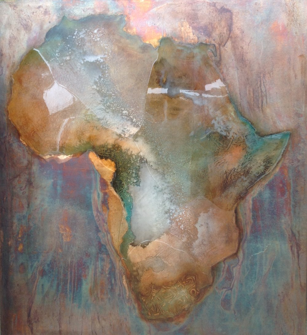 AFRICA - FINGER PRINTS - (SOLD)