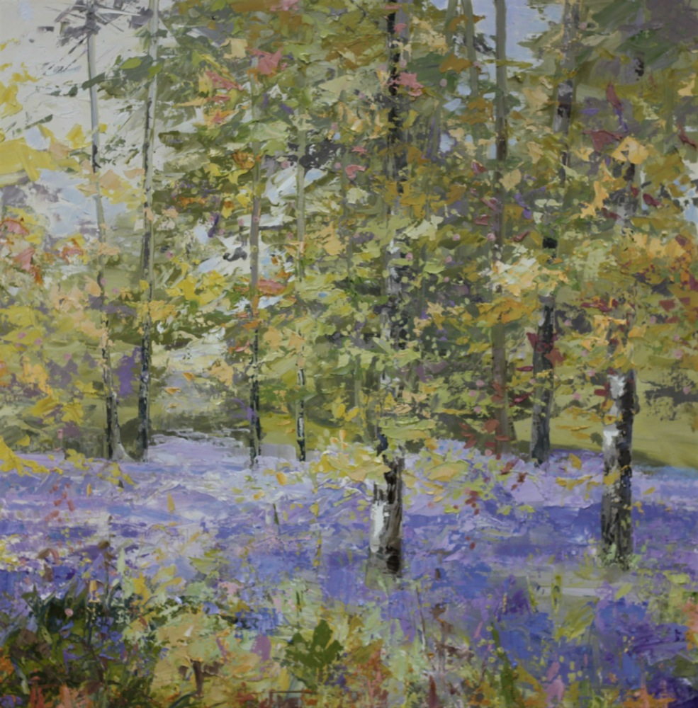 Woodland Blue - SOLD