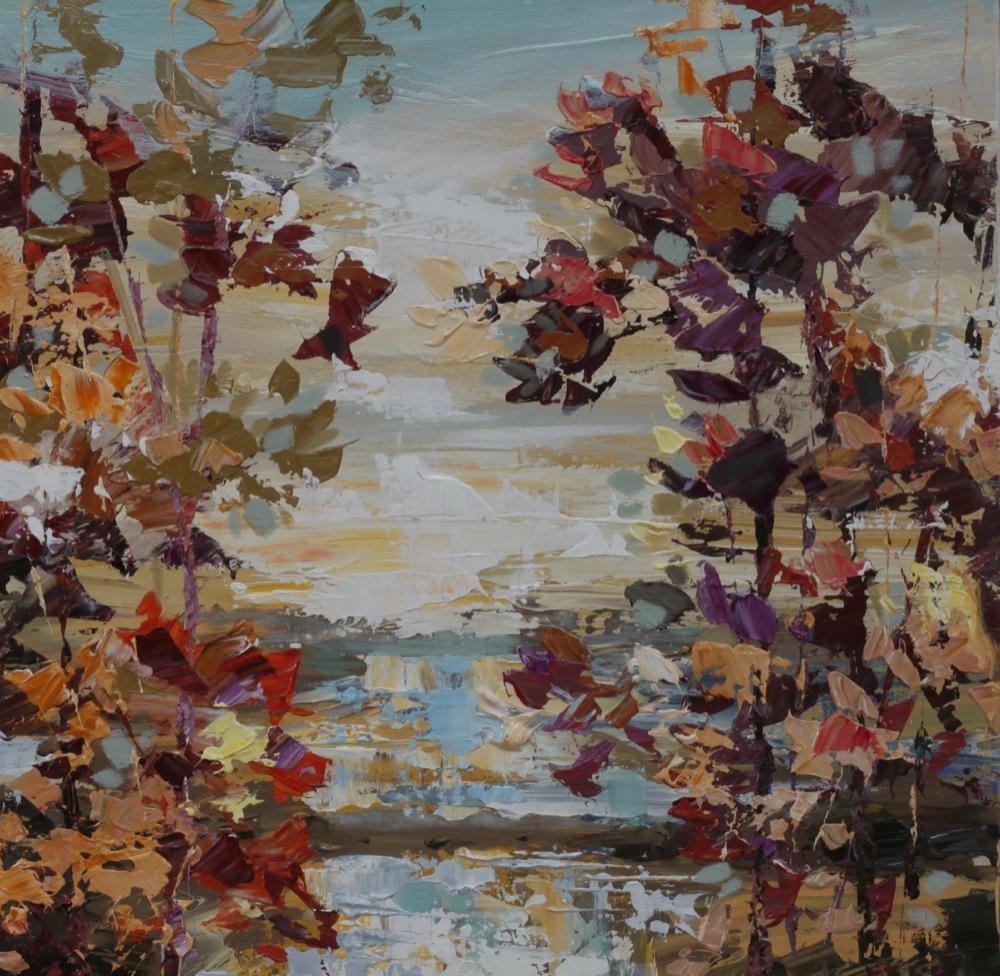 Shoreline Oaks - 50 x 50cm