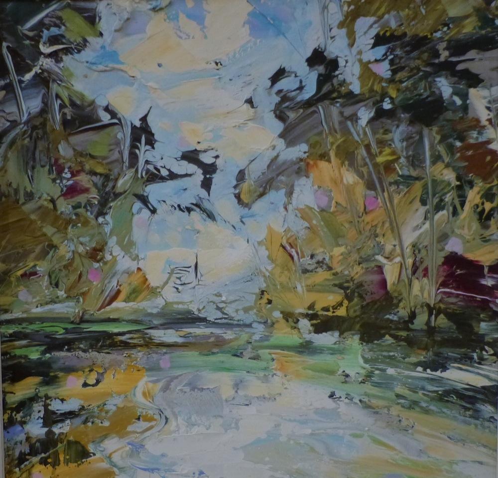 Wild River - 40 x 40cm