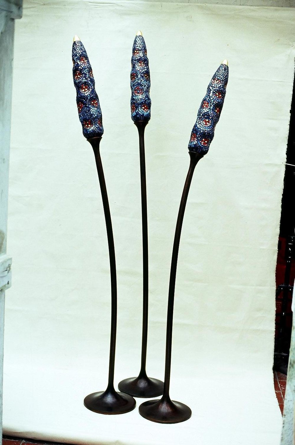 3 Blue Pokers
